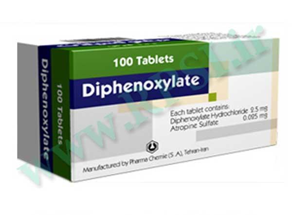 عوارض قرص دیفنوکسیلات